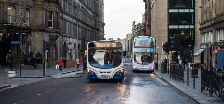 Holyrood magazine covers Bus Fair campaign
